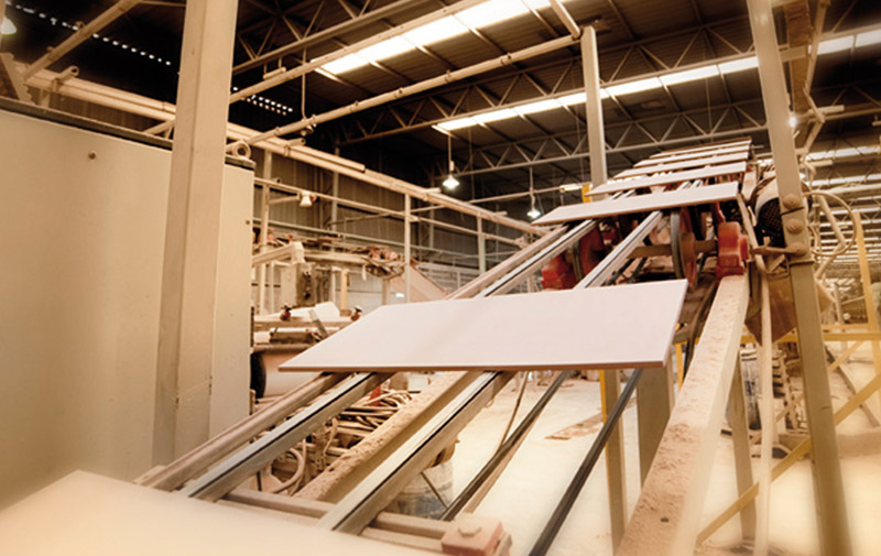 Céramique: Les industriels vont droit au but