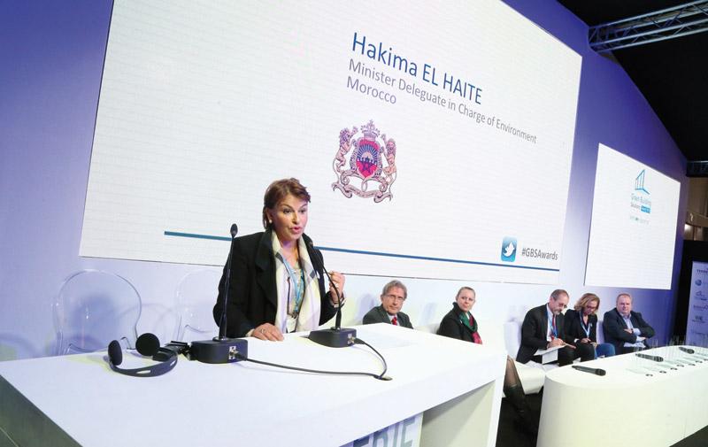 Hakima Elhaité parle de la COP22 chez les centraliens