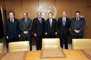 Sahara : Le Secrétaire Général de l'ONU reçoit une délégation dépêchée par SM le Roi