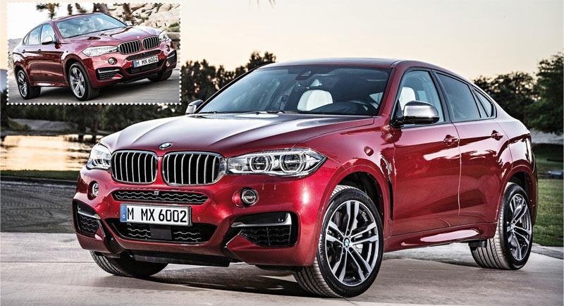 BMW X6 : Un bien luxueux mastodonte !