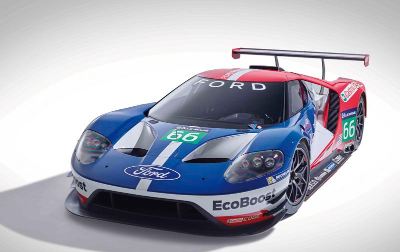 Courses automobiles: Come-back de Ford aux 24 Heures du Mans et en… GT!