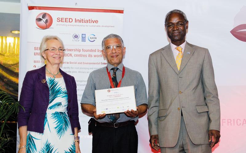Economie verte: Un marocain primé au SEED Africa Awards 2014
