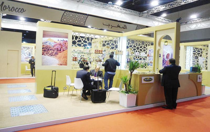 Le terroir marocain en force  au SIAL Middle East
