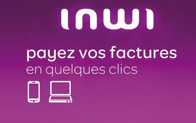 Chez inwi, les clients payent en ligne