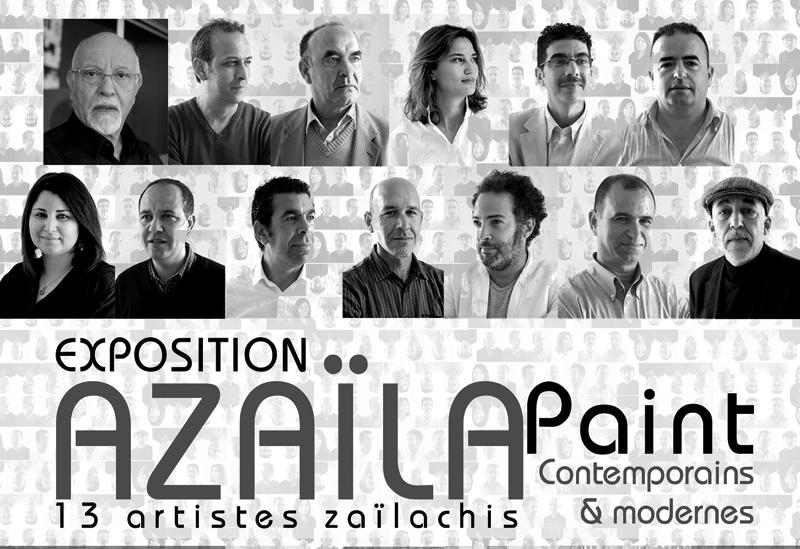 «Azaïla Paint », exposition d'art contemporain et moderne à Casablanca