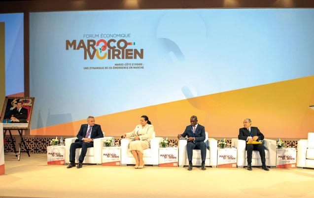 Forum économique maroco-ivoirien: Vers une fusion des pôles économiques Casablanca et Abidjan