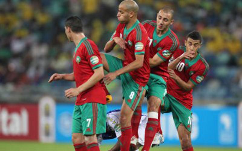 Football : Le Maroc chute à la 87e place au classement FIFA