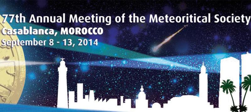Le Congrès annuel de la  «Meteoritical Society» à Casablanca