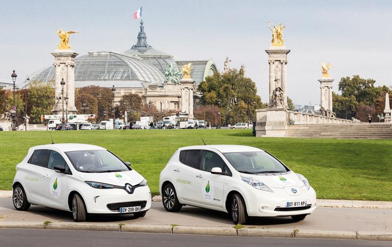 COP21: Renault met la Zoe en avant