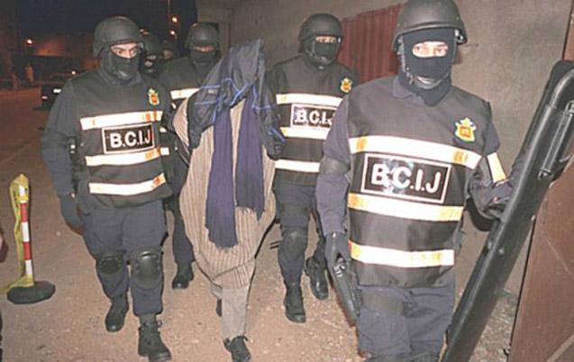 Démantèlement d'une cellule terroriste de 7 membres en lien avec l'Etat Islamique qui s'activaient à Marrakech, Laâyoune et Boujdour