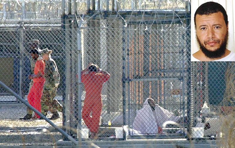 Younes Chekkouri, transféré de  Guantanamo, est placé en garde à vue