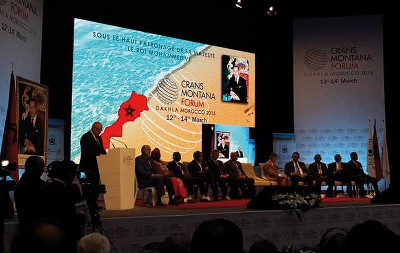 Forum Crans-Montana : Dakhla  rassemble l'Afrique en mars prochain