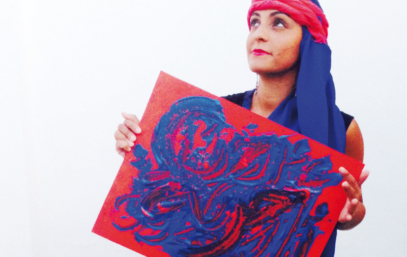 Anissa Lalahoum: Une artiste à l'âme métissée
