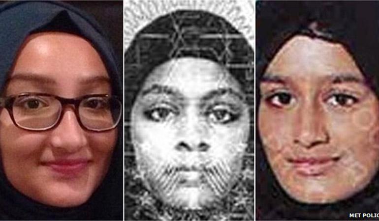Royaume-Uni: Les trois jeunes fugueuses sont-elles vraiment en Syrie?