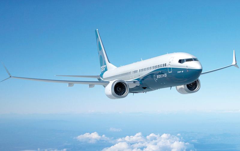 Baptême de l'air réussi pour le Boeing 737 MAX 8