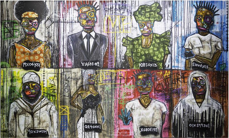 Exposition «Unlimited Morocco»: Turay révèle ses figures géométriques pleines de relief et de couleurs