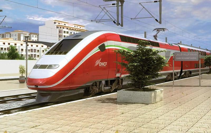 TGV Tanger-Casablanca: début des essais du 1er train à grande vitesse