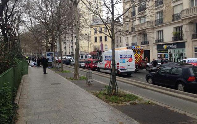 France : tirs au siège du journal Charlie Hebdo à Paris