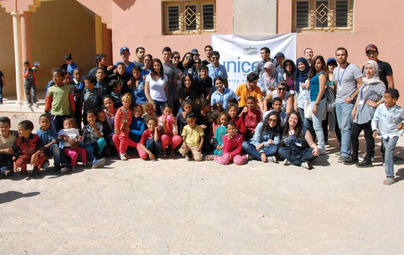 Caravane médicale: UNICEF- Akhawayn au chevet des habitants  d'Aït Ghanem-Timhdit