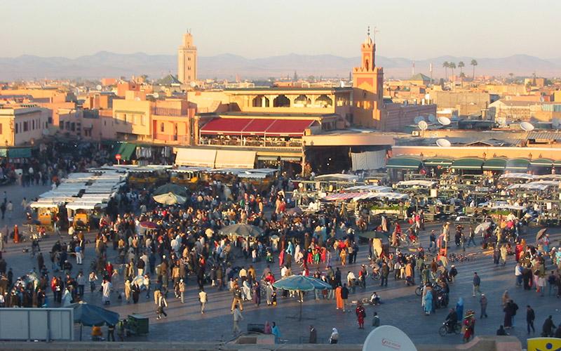 Marrakech, patrimoine mondial  de l'humanité