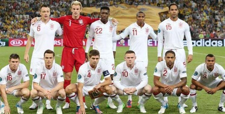 Coupe du monde 2014 : Equipe d'Angleterre