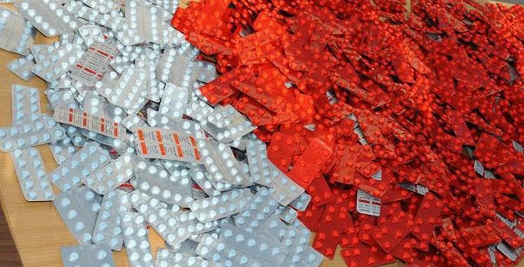 Laâyoune : Saisie de plus de 3.600 comprimés psychotropes