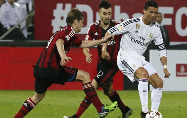 En match amical à Dubai, L'AC Milan s'offre un Real Madrid encore en vacances