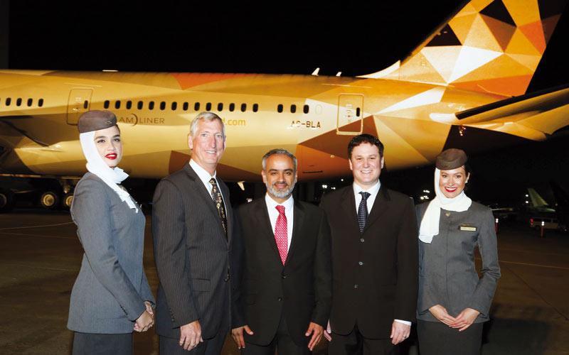 Etihad Airways décore son Airbus A380