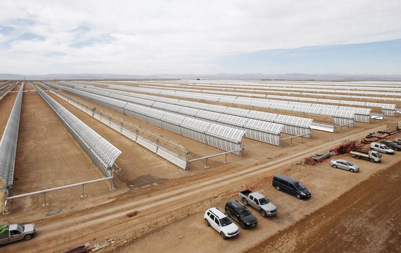Energie solaire  :  Midelt aura bientôt son Noor
