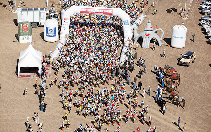 Marathon des sables : 1.400 coureurs à l'assaut  du désert