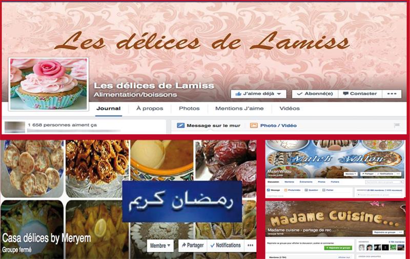 Groupes de cuisines sur réseaux sociaux: De la passion au business…