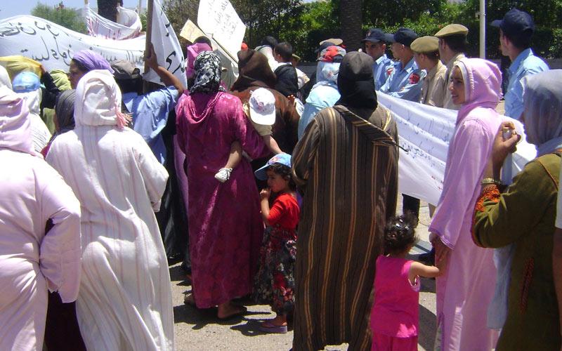 Les femmes dans la rue  le 8 mars