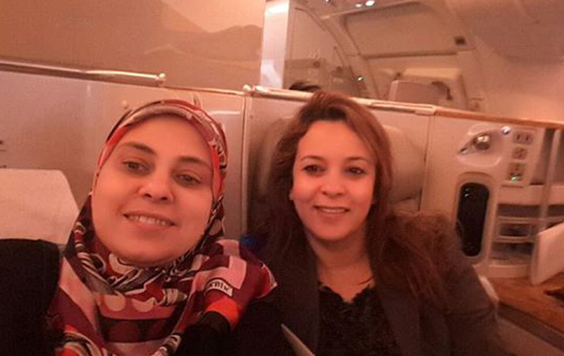 Charafat Afilal solidaire avec Soumia Benkhaldoun