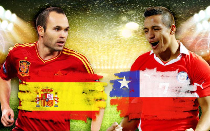 Coupe du monde 2014 – Matches du jour : Espagne – Chili en tête d'affiche