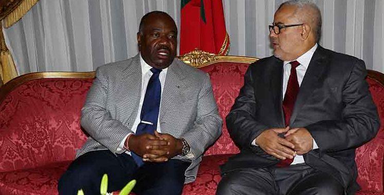 Bekirane représente SM le Roi à la cérémonie d'investiture du président gabonais