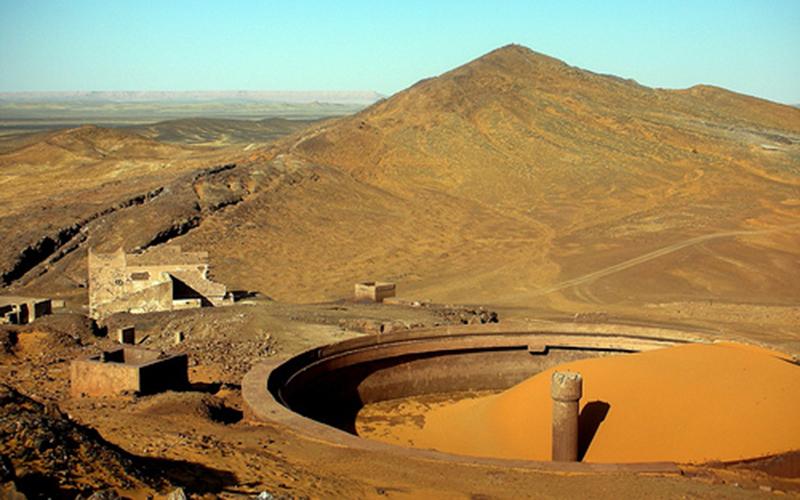 Inauguration de la la mine d'argent Zgounder