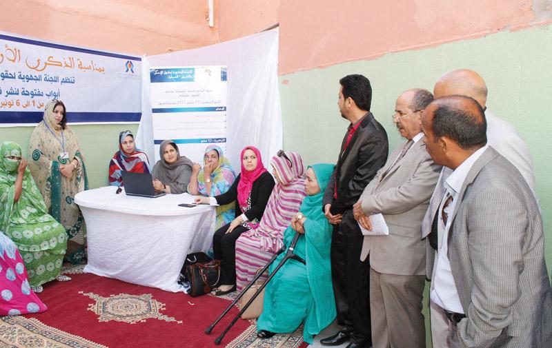 Laâyoune: Les droits de l'Homme font leur promo