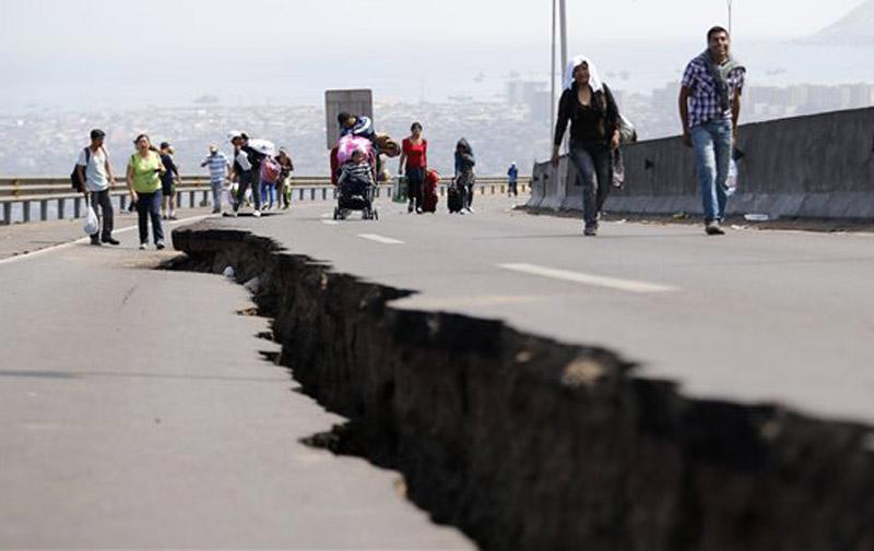Chili : Un fort séisme de 8,4 degrés fait trois morts