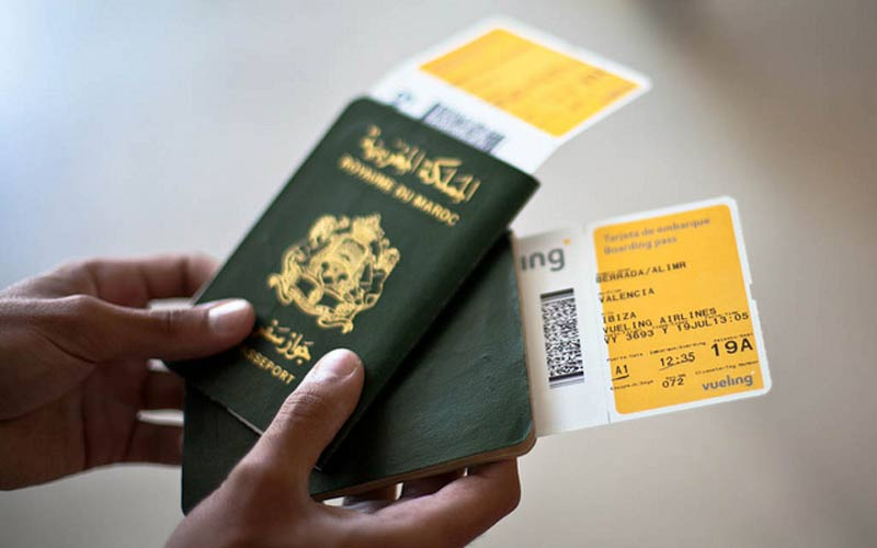 Le passeport marocain permet  de visiter 56 pays sans visa