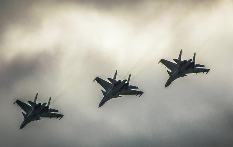 Syrie: 285 frappes de l'aviation russe en trois jours