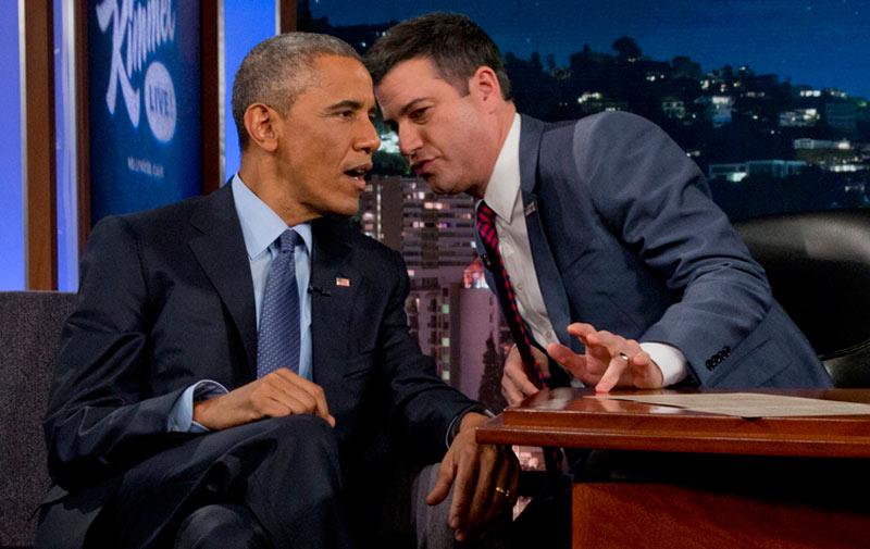 Obama se prête au jeu des tweets méchants