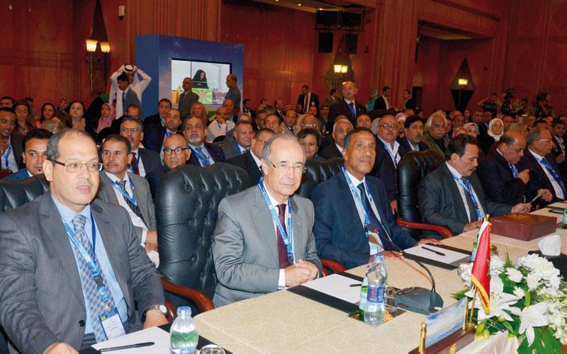 L'UMT au Congrès arabe  du travail