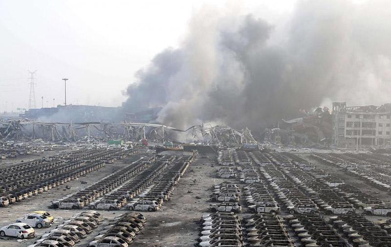 Explosion en Chine : le bilan s'alourdit à 44 morts