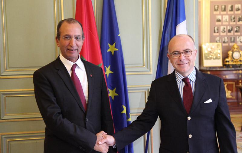 Paris : Réunion entre les ministres français et marocain de l'Intérieur