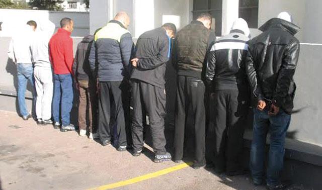 Démantèlement d'une bande de cambrioleurs à Aklim