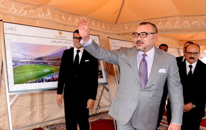Football : les travaux du nouveau stade de Tétouan ont été lancés
