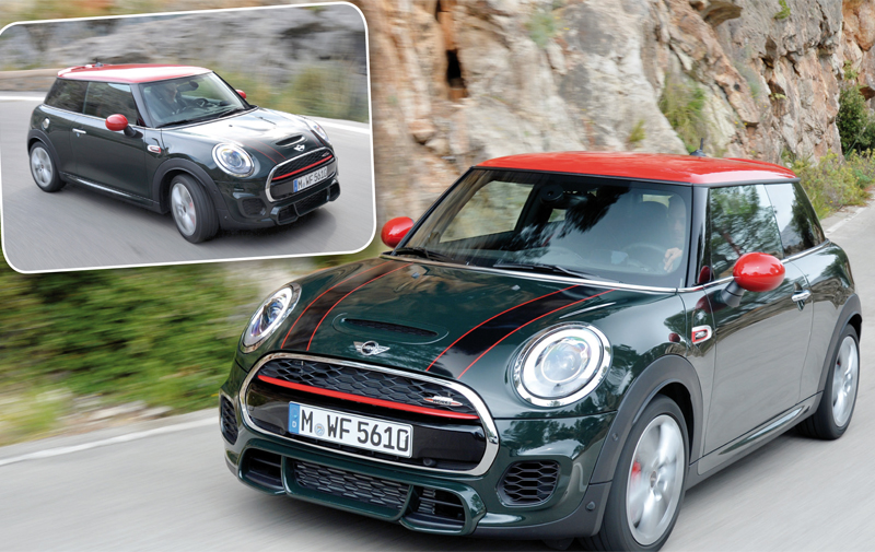 Essai Mini John Cooper Works : She rocks !