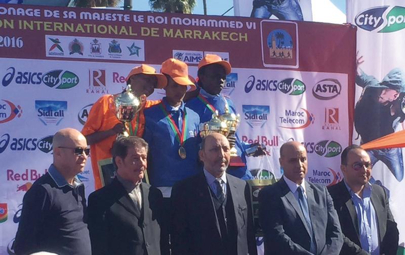 Marathon international de Marrakech: Le Maroc décroche une place sur le podium