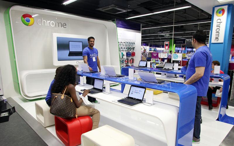 Ouverture: Le premier Google Shop voit le jour