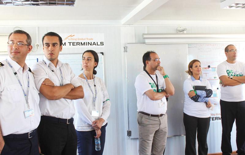 Dans une initiative commune des six plus grands opérateurs portuaires: APM Terminals Tangier toujours au vert